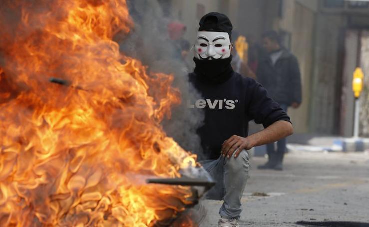 El mundo árabe enciende la intifada contra Donald Trump