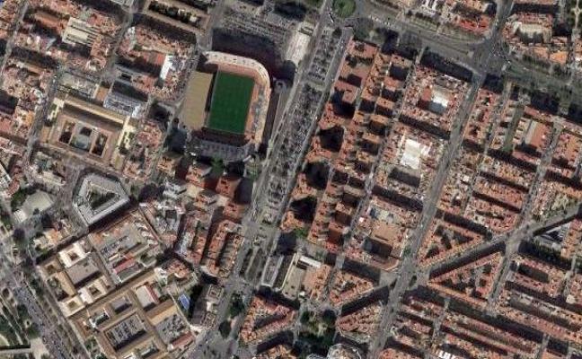 Un joven de 22 años agarra del cuello y golpea a su pareja en la avenida de Aragón de Valencia