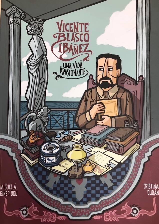 La vida de Vicente Blasco Ibáñez en cómic