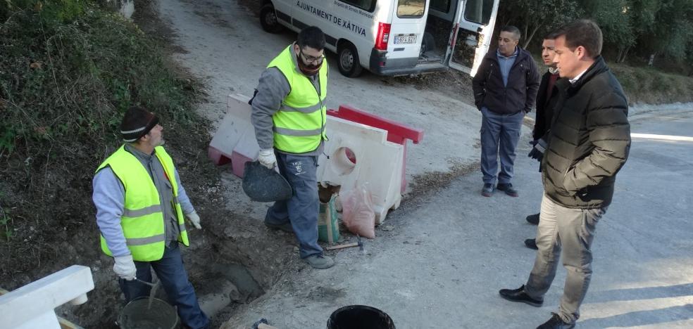 Xàtiva repara caminos de Bixquert con ayuda de Diputación