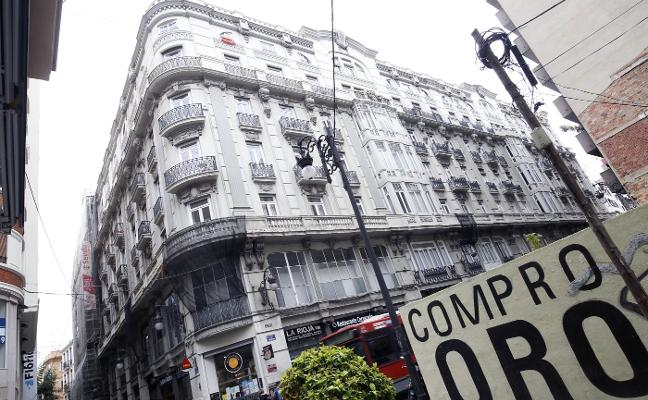 Tres empresas aspiran a abrir un hotel en un edificio en venta del centro