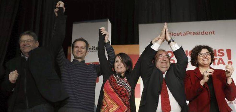 Puig cierra filas con Iceta para mejorar juntos el modelo de financiación si sale elegido presidente