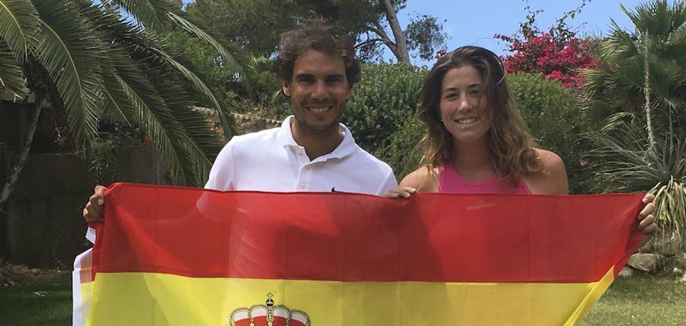 Rafa Nadal y Garbiñe Muguruza, mejores tenistas del año