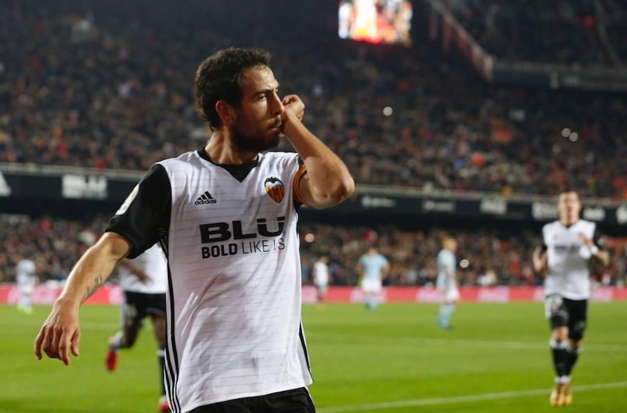 Fotos del Valencia CF-Celta de Vigo en Mestalla