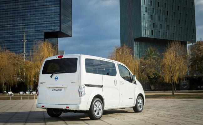 Récord de ventas para el furgón eléctrico Nissan eNV200