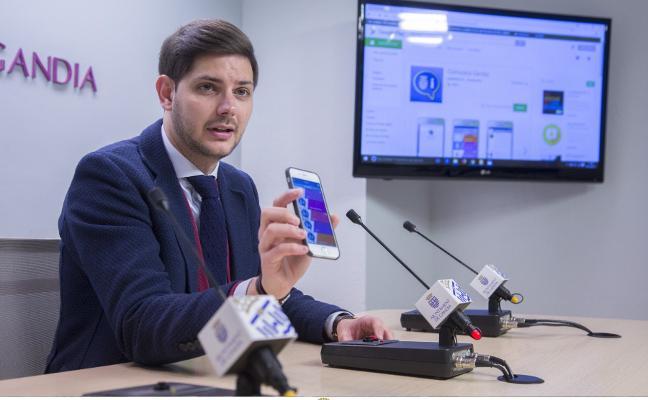 El Ayuntamiento de Gandia se conecta a los vecinos con una aplicación en el móvil