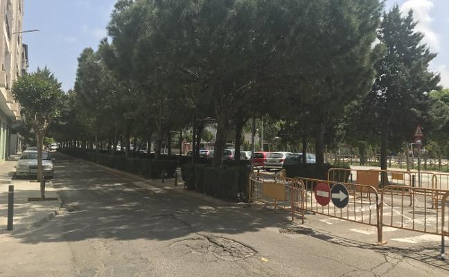Catarroja inicia la reforma de la avenida Diputación