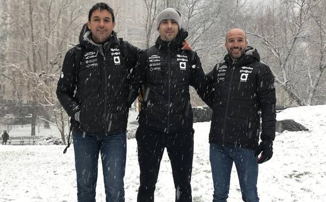 'Puchol' desafía al temporal en Central Park