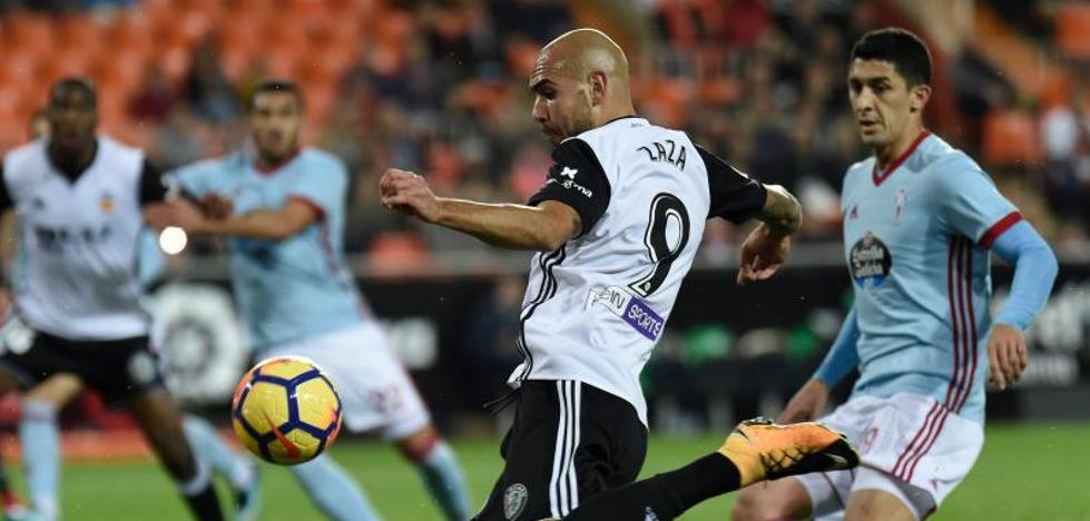 El Valencia se queda con los puntos ante un buen Celta