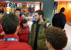 Sergi García ya está en Valencia