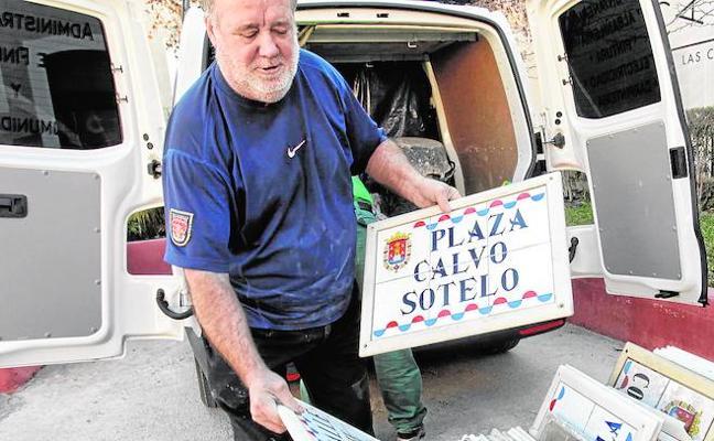 Un nieto de Calvo Sotelo reclama que no le quiten la plaza a su abuelo