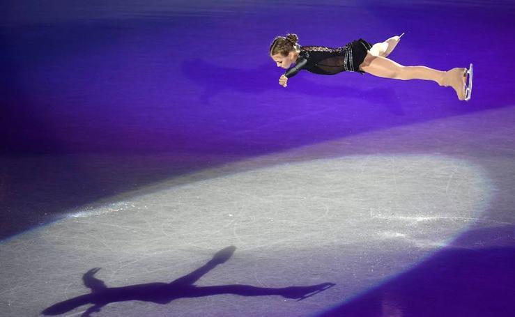 Fotos del Grand Prix de patinaje artístico en Japón