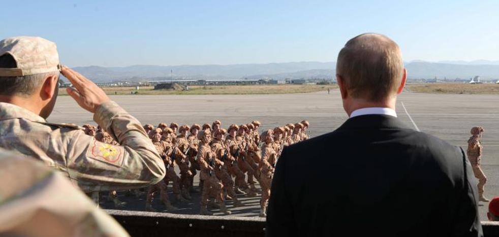 Las tropas rusas comienzan a abandonar Siria siguiendo las órdenes de Putin