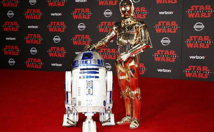 Fotos de la premiere de 'Star Wars'