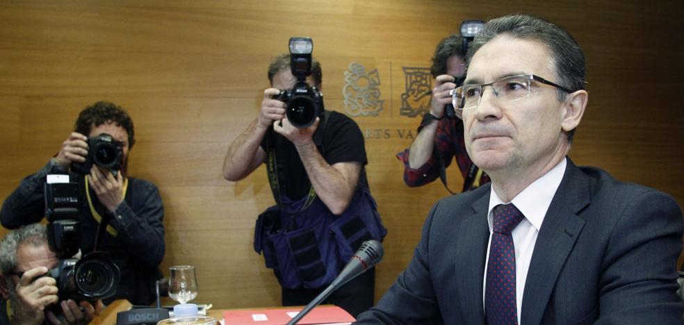 Intervención hará un informe sobre los contratos de Castellano a Taroncher