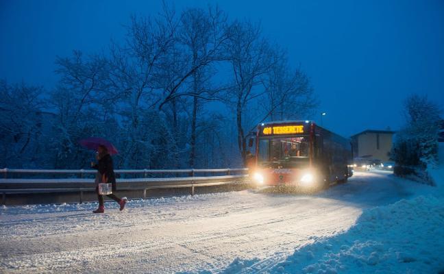 «Nos quedamos en mitad de la nieve con dos niñas y tres maletas»