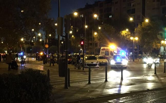 Atropellado un ciclista por un coche en Pont de Fusta