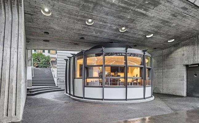 Calatrava diseña un kiosko en su primera estación de Zurich y trabaja en un edificio con un parking para 1.000 bicis
