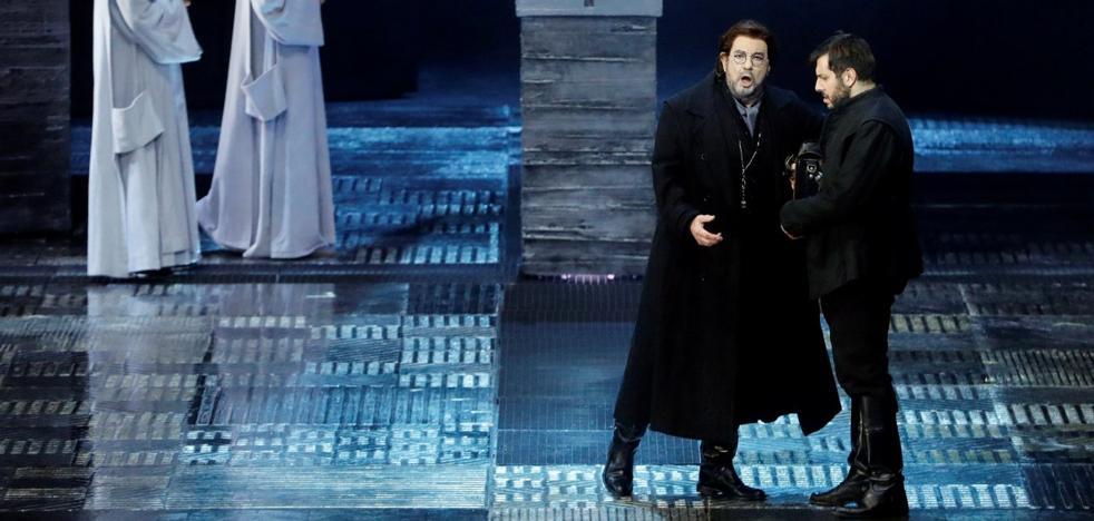 Marzà intenta la reconciliación con Plácido Domingo tras la crisis en el Palau de les Arts
