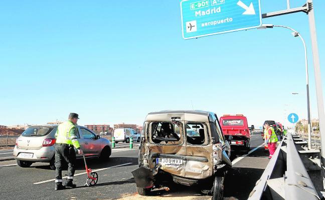 Un hombre muere en un accidente de tráfico en Aldaia