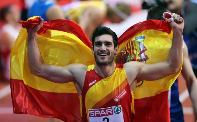El valenciano Jorge Ureña, elegido mejor atleta español de la temporada