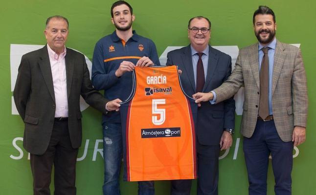 Sergi García: «Estoy ansioso de comenzar con Valencia Basket»