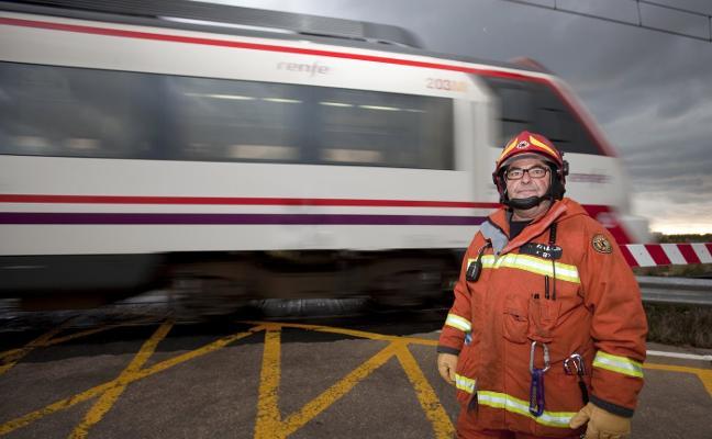 «Fui a trabajar al accidente de tren y la víctima era mi padre»