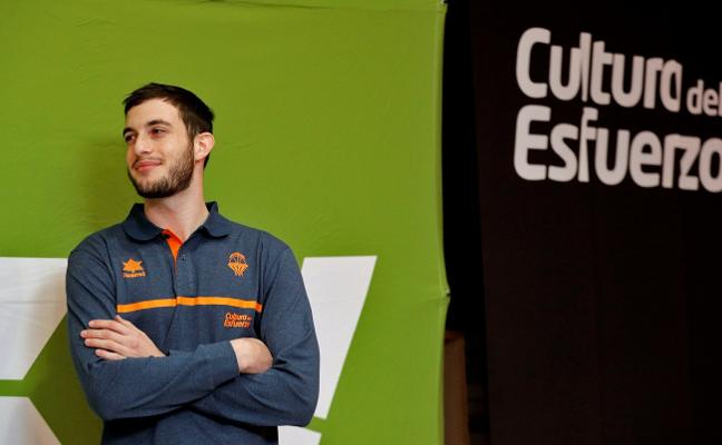 García, ansioso por debutar con el Valencia