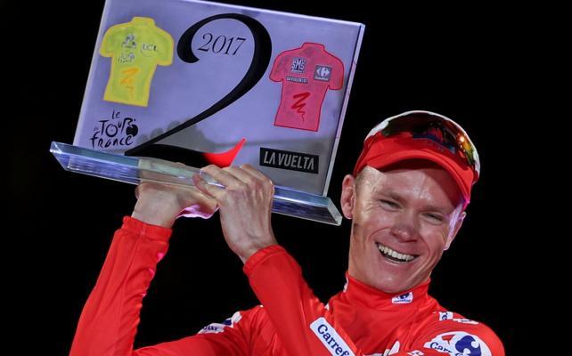 El ciclismo, tocado tras el positivo de Froome que lo justifica por su asma
