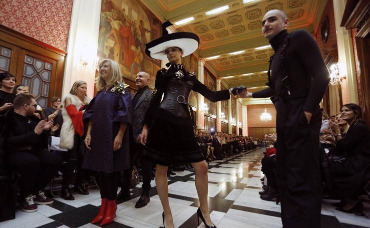 Fotos del desfile de moda, arte y cultura a beneficio de AFAV