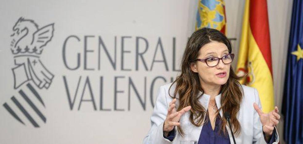 Oltra condena los insultos a Inés Arrimadas: «Es ofensivo y no hace gracia»