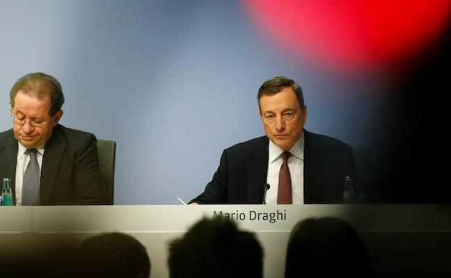 El BCE prevé una inflación de 1,7% en 2020, por debajo de su objetivo