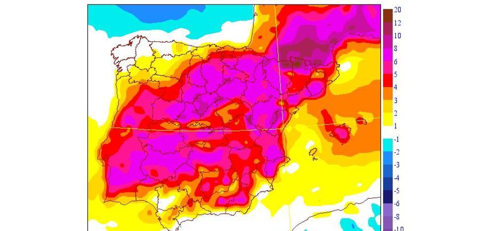 Las mínimas aumentan hasta 10 grados en Xàtiva y Manises