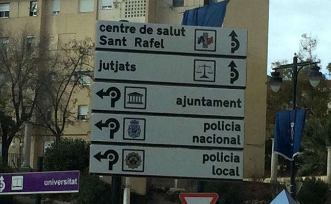 Mejoras de señales urbanas con 100 placas