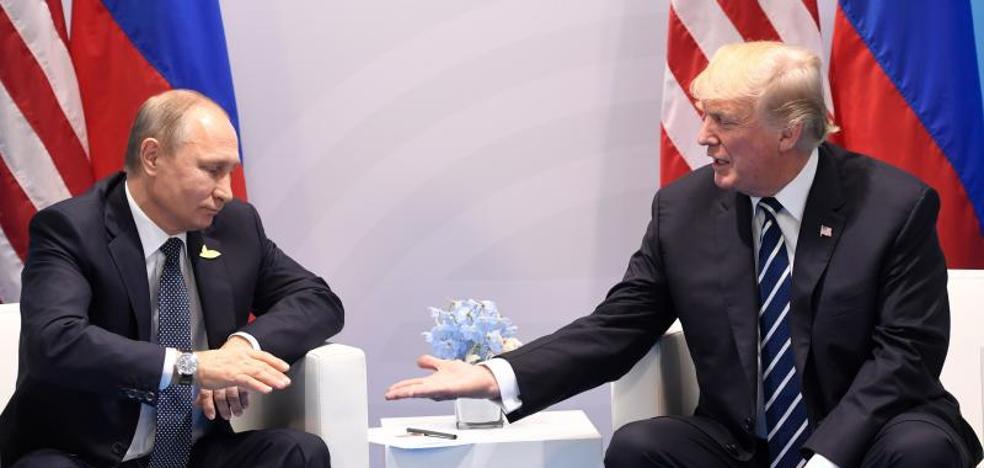 Putin y Trump conversan por teléfono sobre Corea del Norte