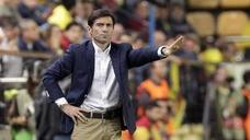 Marcelino: «Meterse en Champions sería un éxito absoluto»