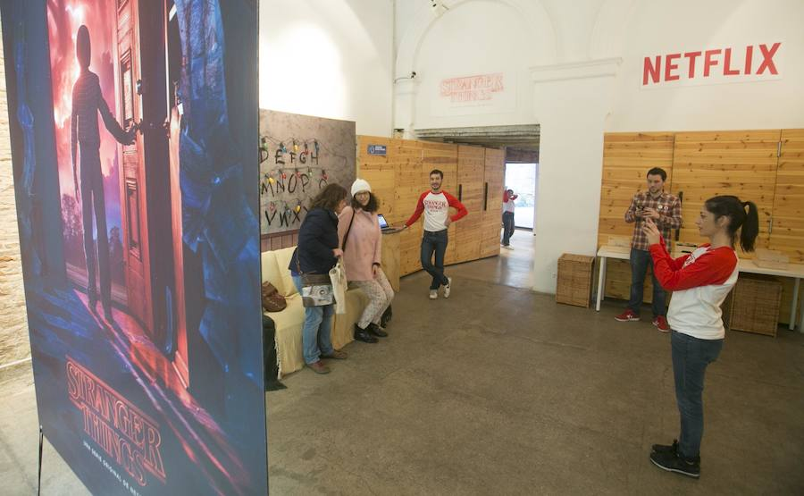 Fotos de la 'pop up store' de Stranger Things de Netflix en Valencia