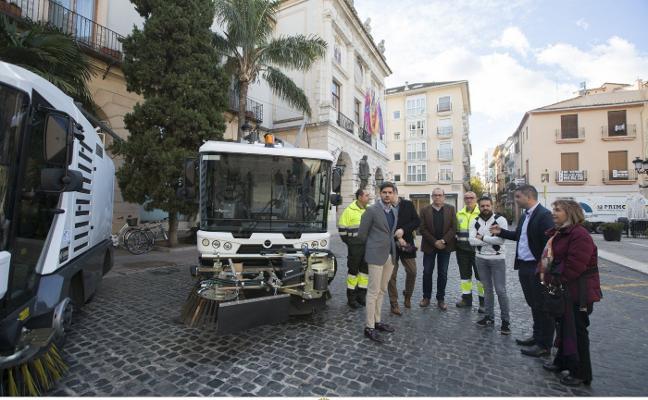 Tres nuevas máquinas para limpiar las calles