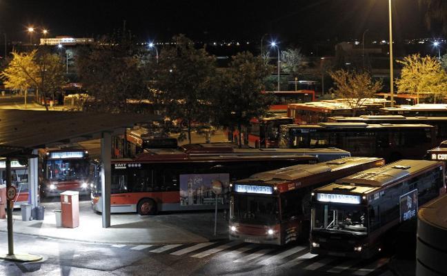 Sesenta autobuses de la EMT dejan de circular por bajas de personal y averías