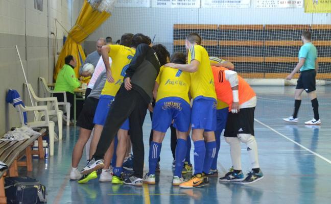 La plantilla del Dénia Futsal se mantiene firme y hoy jugará su último partido