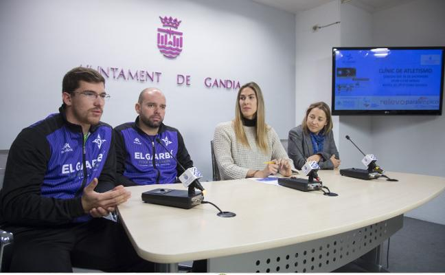 La Fundación Trinidad Alfonso y el Garbí traen a Gandia un clínic de atletismo y discapacidad