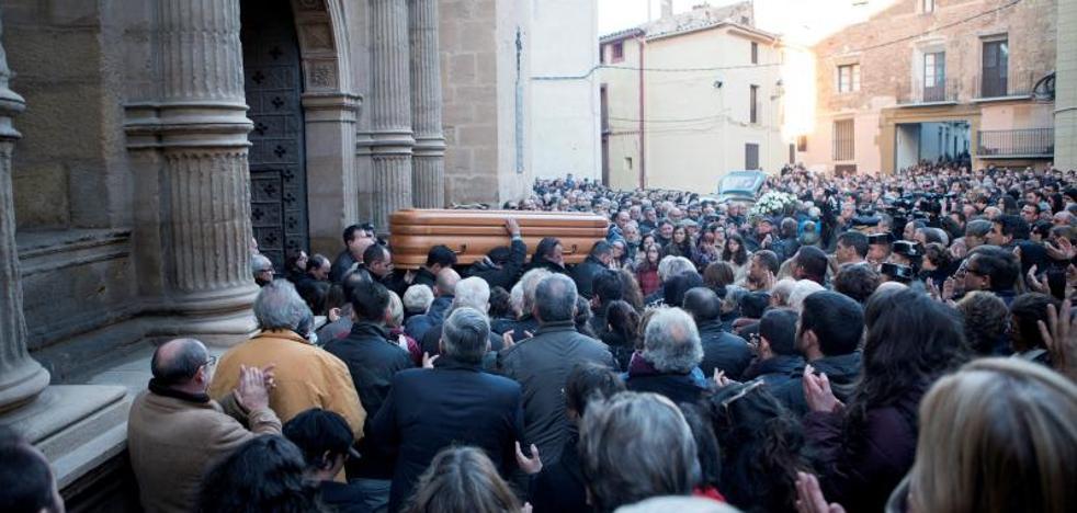 Teruel despide aún consternada al joven ganadero asesinado