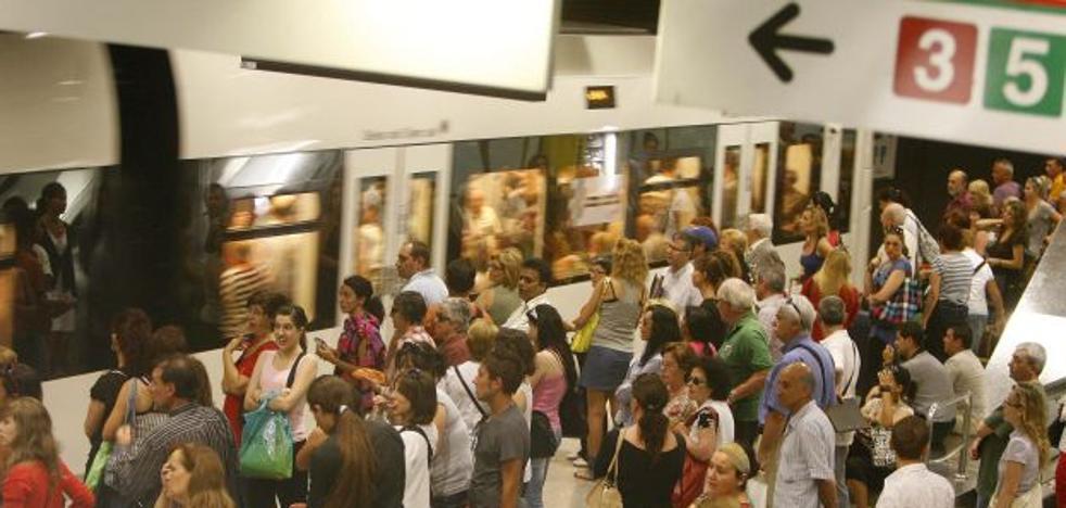 Toda la semana de huelga entre el metro y el tranvía en Valencia