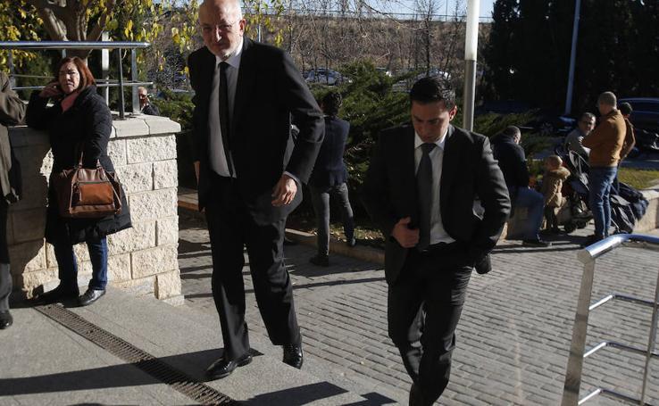 Fotos del funeral de Juan Lladró