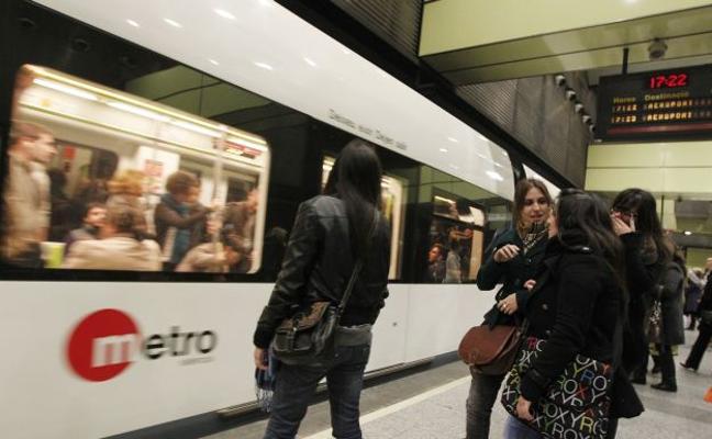 La línea más utilizada y la parada más transitada de Metrovalencia