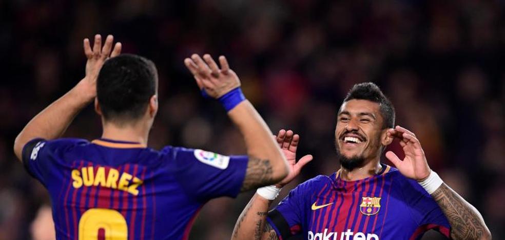 El Barça se revuelve contra los palos