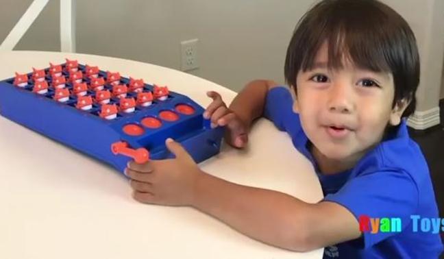 El niño millonario por probar juguetes