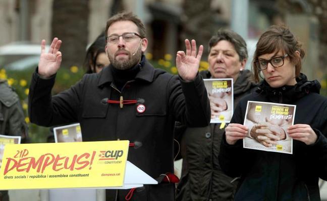La CUP avisa: «Si generamos la mínima duda, la derecha españolista nos arrasará»