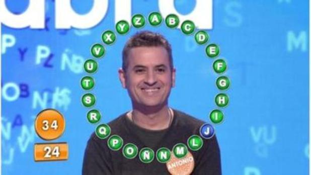 Antonio Ruiz gana el bote de más de 1,1 millones de euros en 'Pasapalabra'