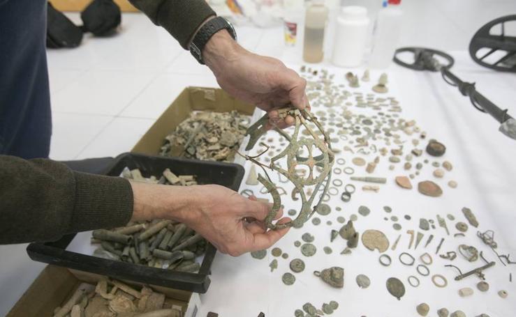 Fotos del yacimiento arqueológico de Llíria